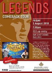 LEGENDS COMEBACK CONCERT TOUR