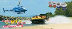 Jetboat Express 30 mins & 5min Helicopter - Live