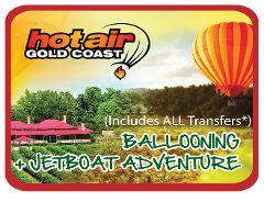 Jetboat + Hot Air Balloon