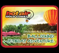 Jetboat + Hot Air Balloon