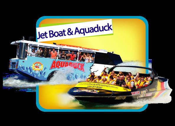 Jetboat & Aquaduck Combo