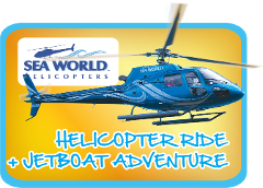 Jetboat + 5min Helicopter