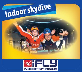 Jetboat + iFLY indoor Skydive