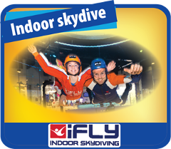 Jetboat + iFLY indoor Skydive