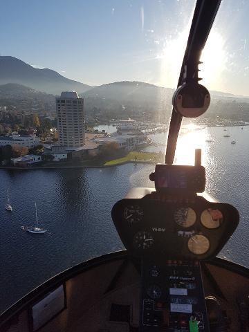 20Min Scenic Helicopter Flight Tasmania Australia