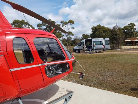 Saffire Helicopter Transfer (1-6 Pax) Tasmania Australia
