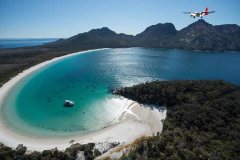 Wineglass Bay and Three Capes Tour Tasmania Australia