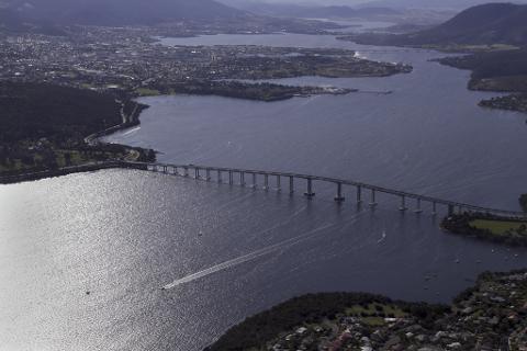 Hobart City Scenic (Aeroplane) Tasmania Australia