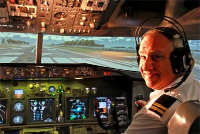 120Min Simsation Flight Advenure