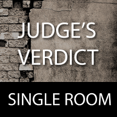 Judge's Verdict- One Room