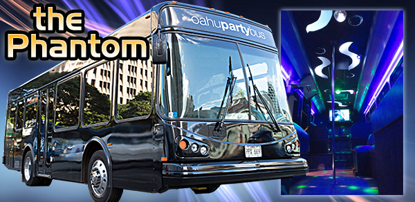 The Phantom Bus (Military / Kamaaina Price)