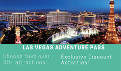 7 Day Vegas Adventure Pass  20 Dollars Off ANY Las Vegas activity