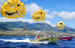 Lahaina Parasailing with West Maui Parasail