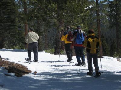 Lake Tahoe Guided Snowshoeing Tours