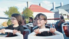 School Holiday Special-Double Decker 90 minute City Loop Tour. 2 for 1