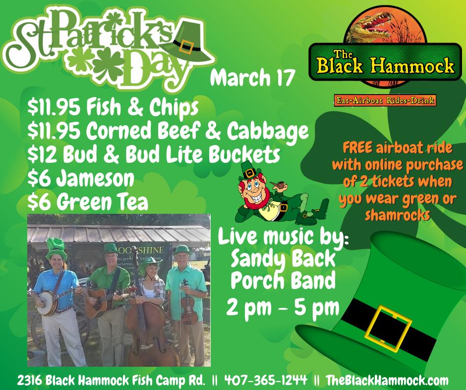 St. Patrick's Day Buy 2 Get 1 FREE