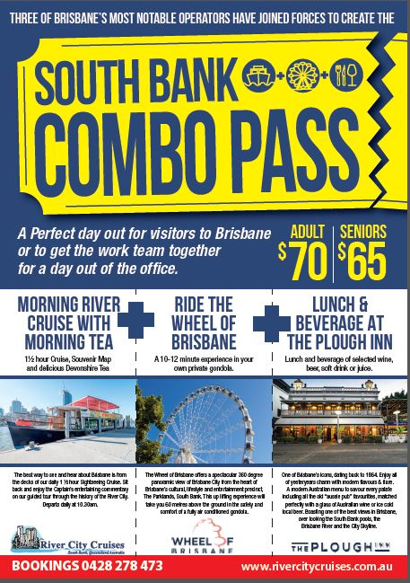 SOUTH BANK COMBO PASS