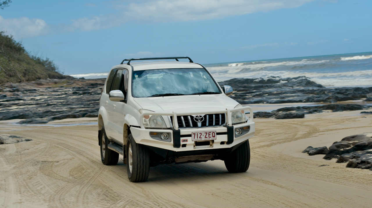 5 day 4wd hire and camping package