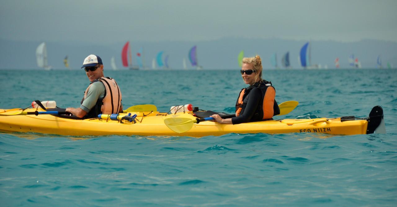 Full Day Tropical Island Kayak Adventure