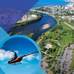 RIMOUSKI BETWEEN SKY AND SEA (6-min helicopter tour)