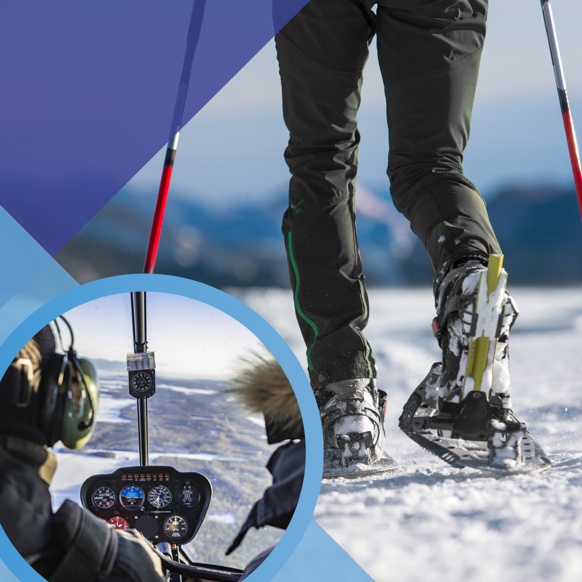 HELICOPTER HELI-SNOWSHOEING ADVENTURE GIFT CARD