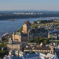 BIRD'S EYE VIEW OF QUEBEC CITY (BLACK FRIDAY AND CYBER MONDAY)
