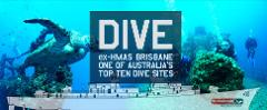 Double Dive: ex-HMAS Brisbane
