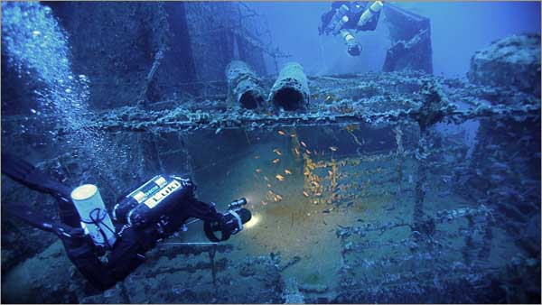 Tec Dive (ON BOARD SCUBA WORLD BOAT)