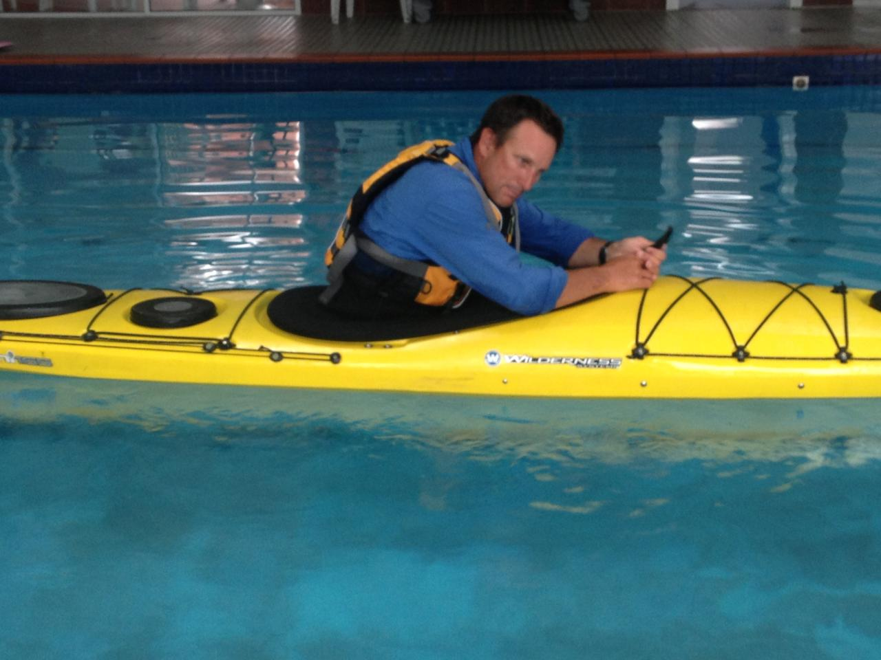 Kayak Instruction - Rescue Pool Session