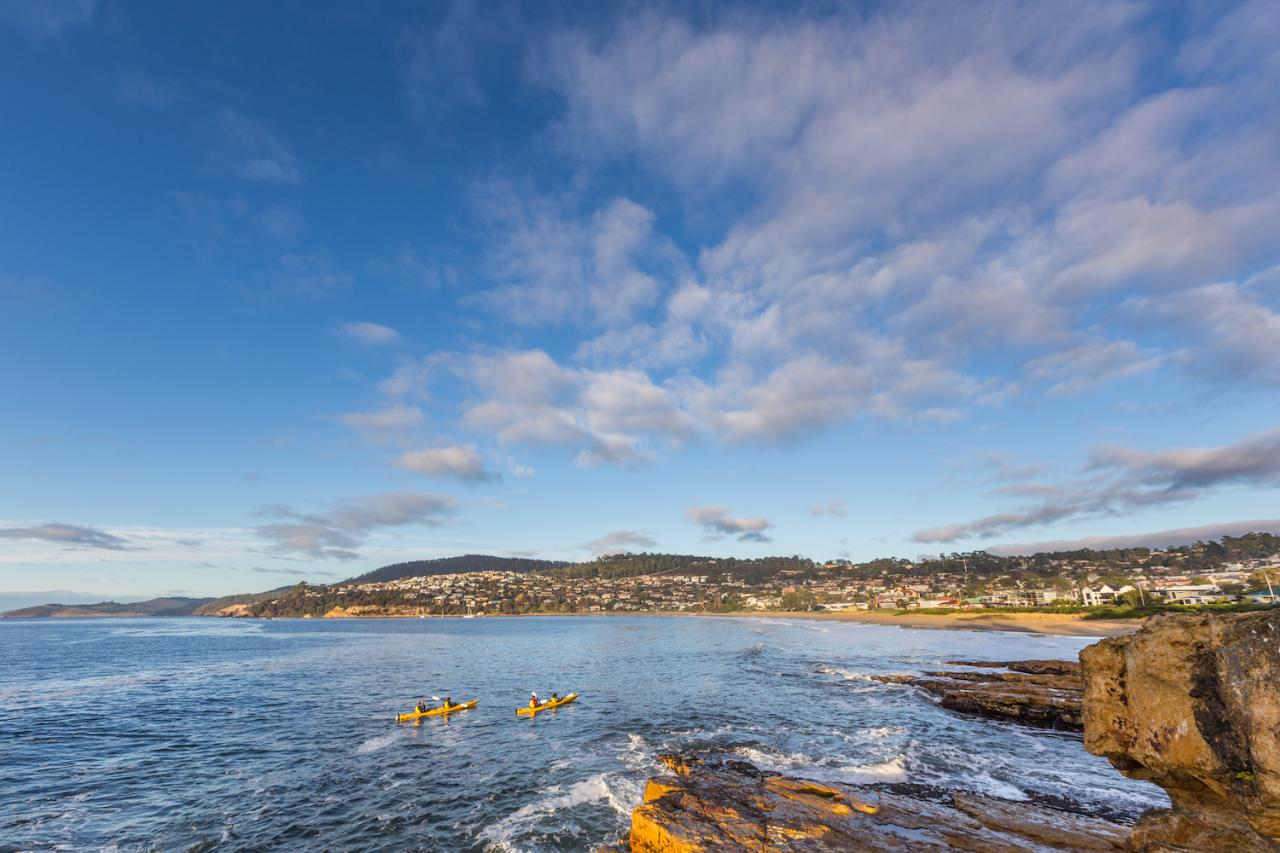 Hobart's Cliffs, Caves and Beaches