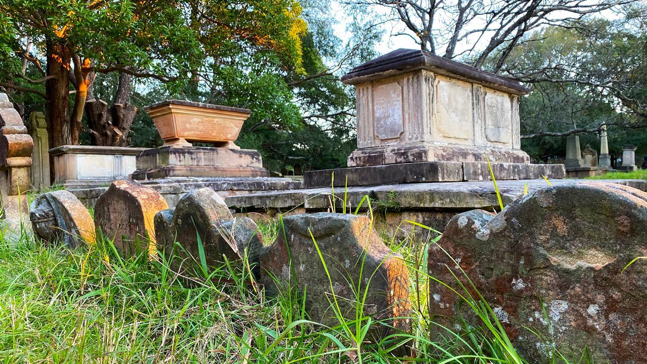 Newtown Walking Tour with Camperdown Cemetery