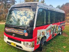 Bathurst Explorer Bus. Hop on Hop off.  It's a 48 hour Explorer Pass