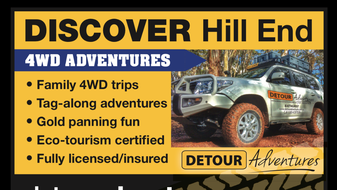 Historical Hill End 4WD Adventure