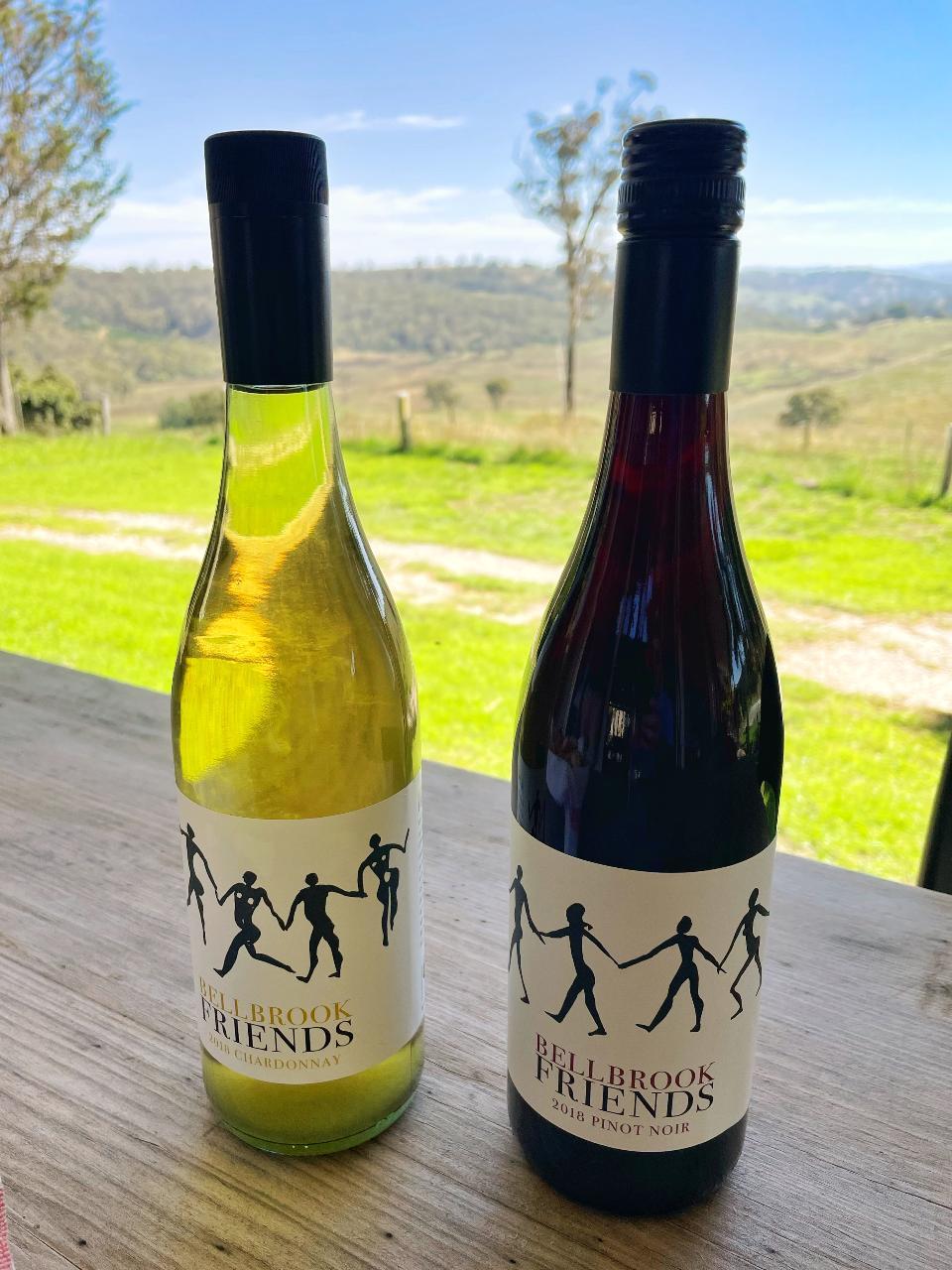 Bellbrook Friends Vineyard Wine Tasting Experience