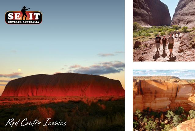 SEIT Red Centre Iconics ex Alice Springs