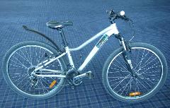 1/2 day hire for XS step through Adults bike ( up to 3 hours)