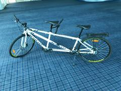 1/2 day hire for Tandem Bike ( up to 3 hours)