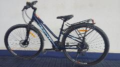 1/2 day hire for Small Step Through Adults Bike ( up to 3 hours)