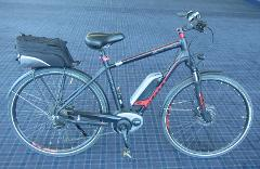 Size Large E-Bike Hire for up to 7 days