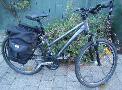 1/2 day hire for Medium Step through Adults bike ( up to 3 hours)