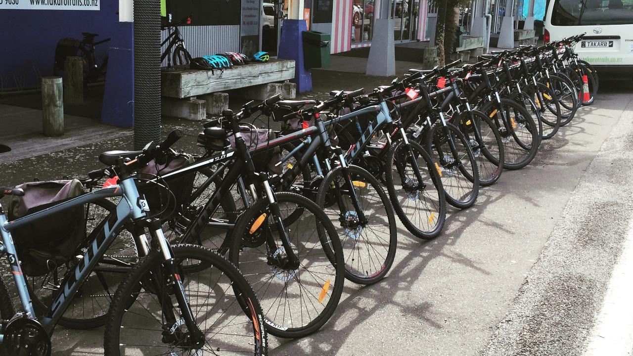 Bike and E-Bike Hire (half & full day)