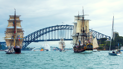 James Craig Australia Day - Tall Ships Race Cruise
