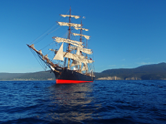 Tall Ship James Craig Voyage: Hobart to Sydney 2019
