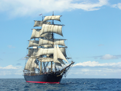 Tall Ship James Craig Voyage: Sydney to Hobart 2019