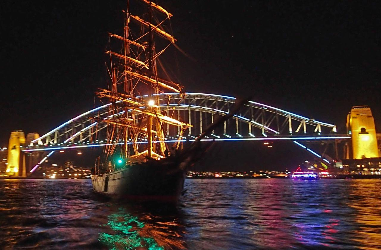 James Craig - Vivid Sydney Cruise
