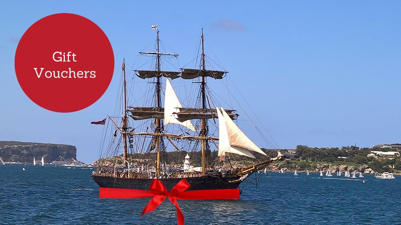 Gift Voucher: See Sydney Under Sail - An Afternoon Adventure