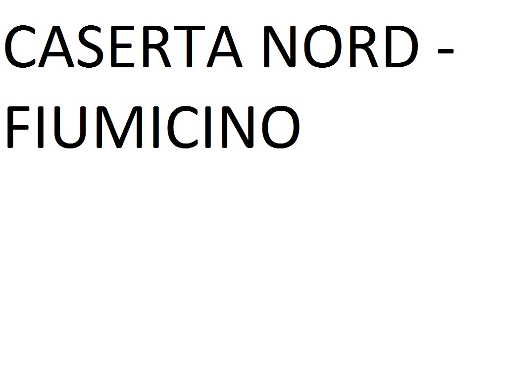 CASERTA NORD SS APPIA 272 --> FIUMICINO AIRPORT (T3 Bus Station Arrivi)