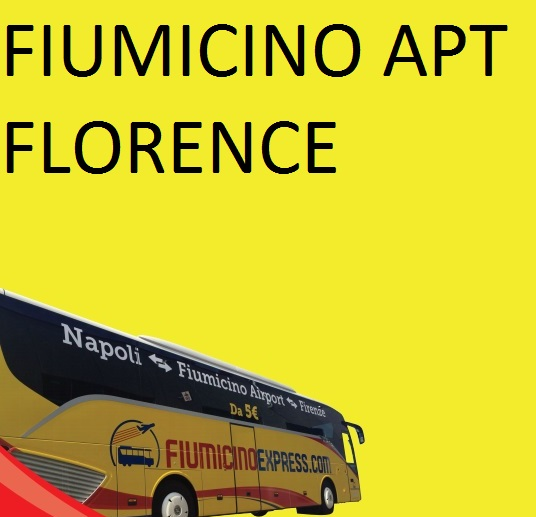 FIUMICINO AIRPORT (T3 Bus Station Arrivi) --> FLORENCE (Binario 16 Montelungo)