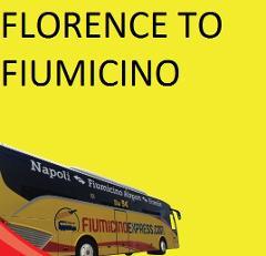 FLORENCE (Binario 16 Montelungo) --> FIUMICINO AIRPORT (Terminal 3)