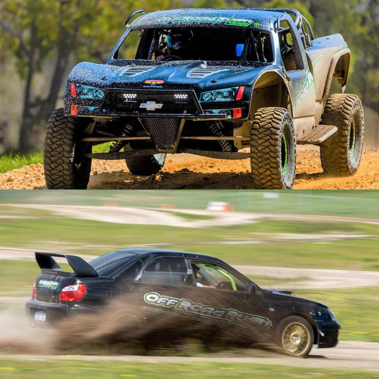 PERTH - COMBO 1 -- WRX RALLY 8 DRIVE LAPS + V8 TROPHY TRUCK 8 DRIVE LAPS + 2 HOT LAPS